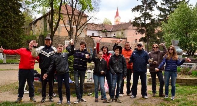 В Ужгороді започаткували турнір з петанку «Sakura-preview»