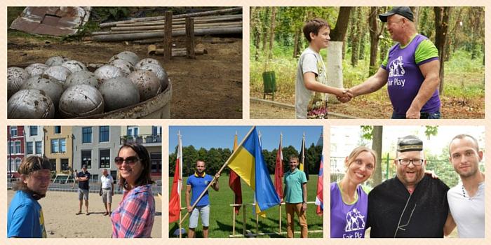 Український петанк: підсумки серпня, 2015