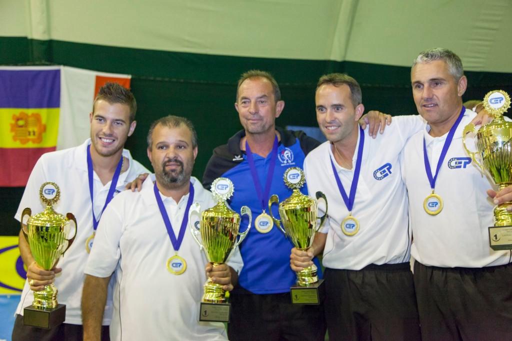 Збірна Франції —чемпіони Європи з петанку