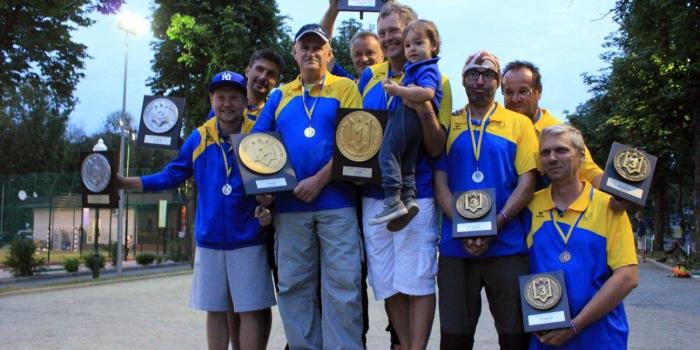Чемпіонат України 2017, триплети, чоловіки