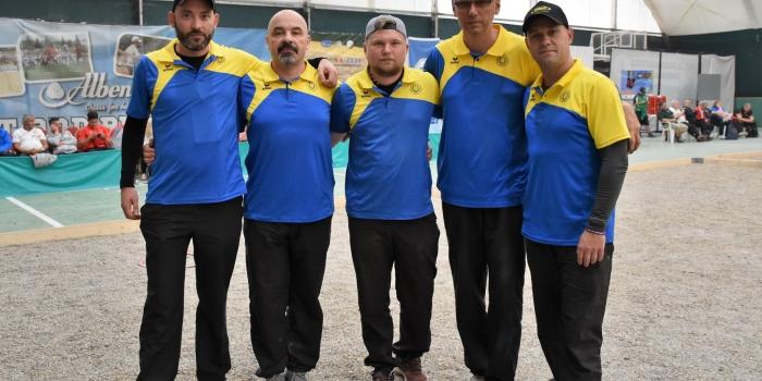 Чемпіонат Європи з петанку для чоловіків (триплети) 2019