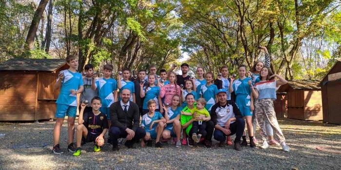 Ужгородські діти вчилися грати в петанк