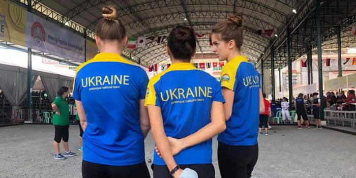 Українські жінки на Чемпіонаті Світу з петанку 2019 в Камбоджі