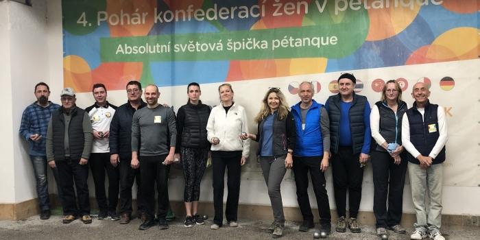 Тренінг для українських петанкістів від CIEP у Празі.