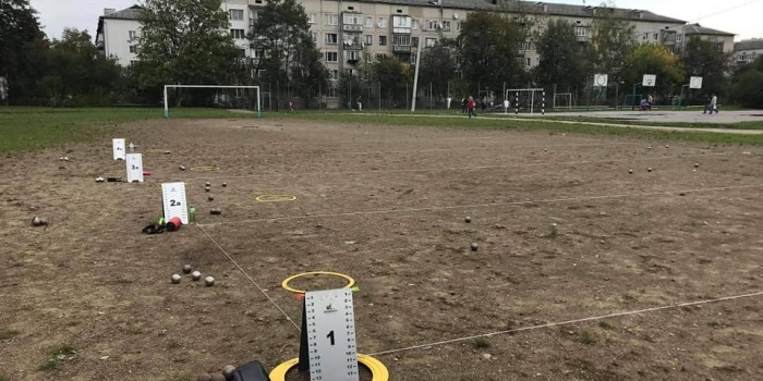Перший відкритий Кубок Івано-Франківська з петанку!
