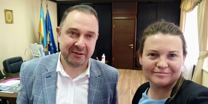 Зустріч з міністром молоді та спорту України